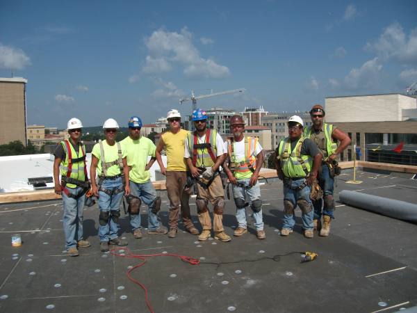 SRS Roofing U0026 Sheet Metal Was The 2008 Recipient Of The AGC Milwaukee  Construction Industry Safety Council U201cPerfect Construction Safety Recordu201d.