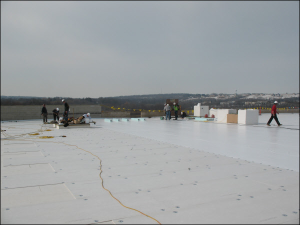 TPO Roofing System Installation