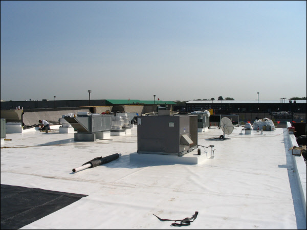 Contact The Roofing Specialists At SRS Roofing U0026 Sheet Metal For A Durable,  Long Lasting Flat Roof Today.
